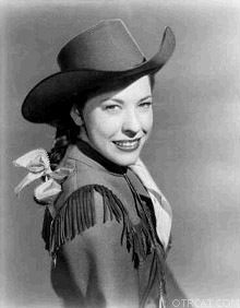 Judy Canova as Cowgirl