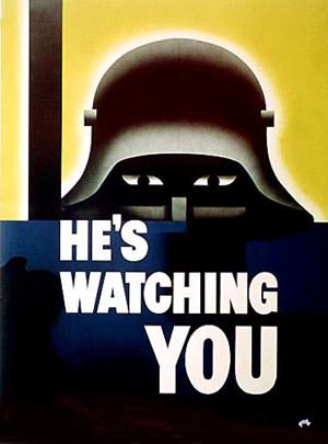 Nazi is watching you!