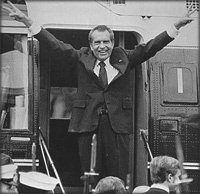 Richard Nixon Leaving