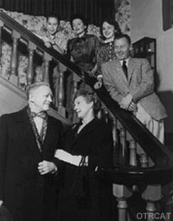 One Man's Family Press release photo, 1950