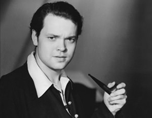 Orson Welles and Pipe