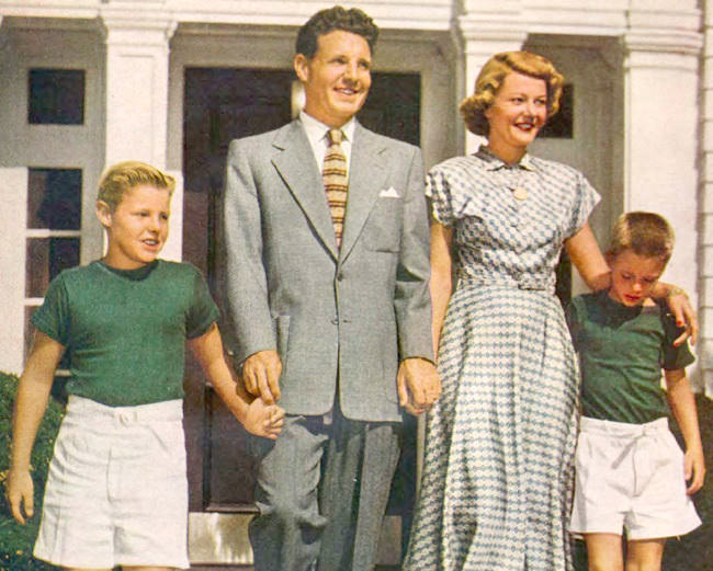 Ozzie & Harriet Nelson Family