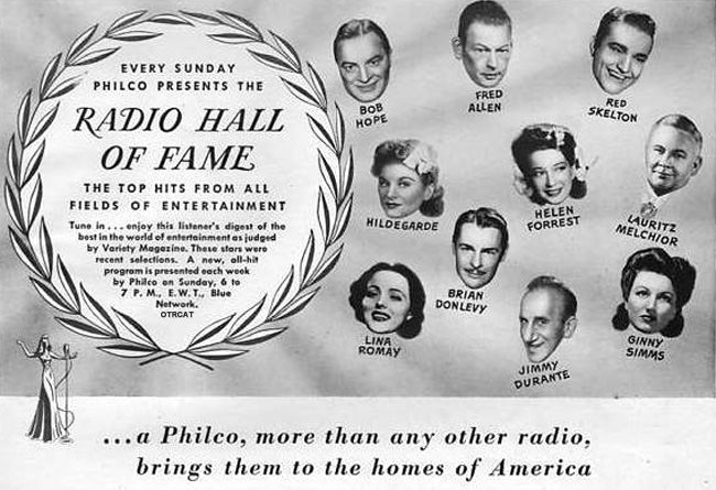 Philco Hall of Fame
