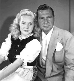 Alice Faye and Phil Harris