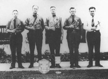 Policemen of the 1930's