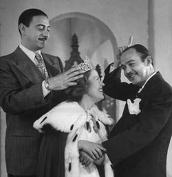 Queen for a Day starring Jack Baily (right)