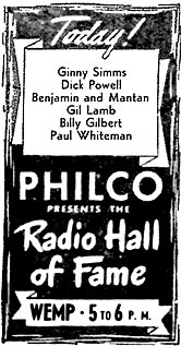Radio Hall of Fame