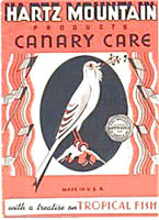 Hartz Mountain Canary Care