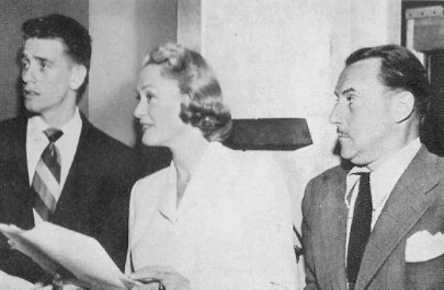 Richard Crenna, Eve Arden and Gale Gordon on Our Miss Brooks