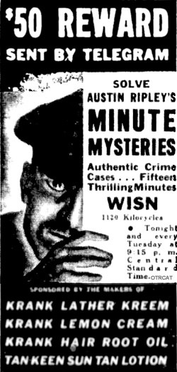 Ripleys One Minute Mysteries Ad