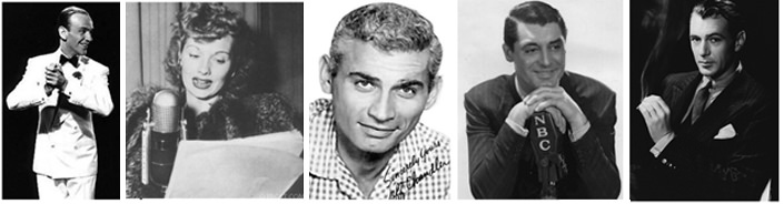Fred Astaire, Lucille Ball, Jeff Chandler, Gene Kelly, Henry Fonda