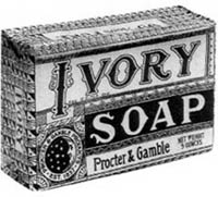 Ivory Soap sponsored the program.