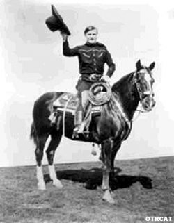 Tom Mix, horseback
