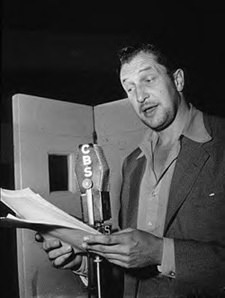 Vincent Price on the radio, circa 1955