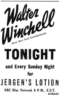 Quote Walter Winchell