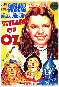 Wizard of Oz Theater Card