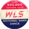 WLS National Barn Dance advertisement
