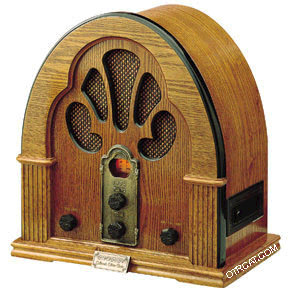 old time radio picture