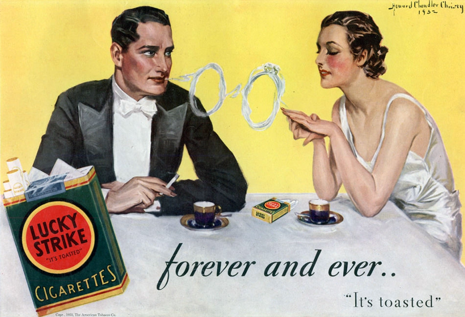 Lucky Strike Advertisement, 1933