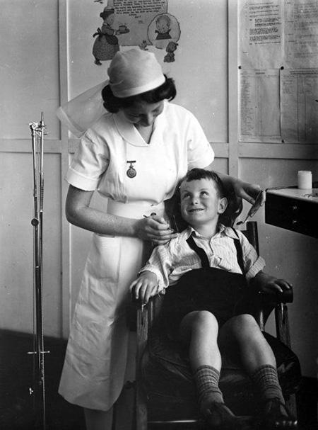 1940s Dentist
