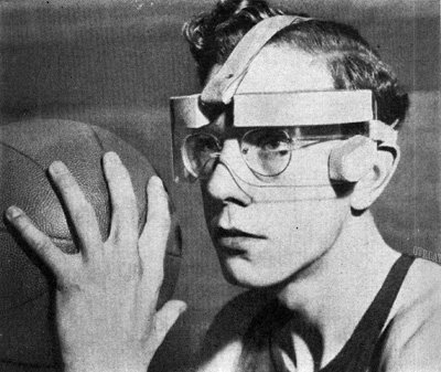 1941 Eye Glass Protectors for Basketball