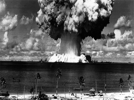 Atomic Test Bikini Islands