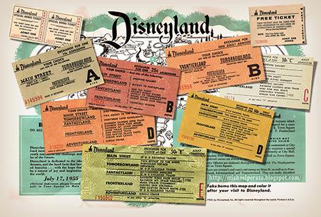 1955 Disneyland opening