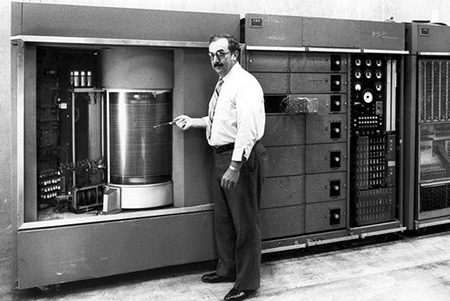 1956 IBM Hard Drive 3MB