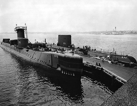 Uss Nautilus and Seawolf