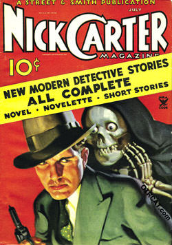 Nick Carter Dimestore Novel