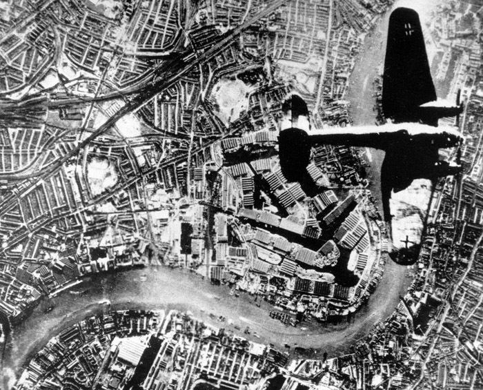 Nazi Bomber over London