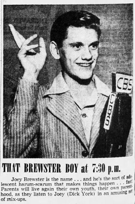 A very young Dick York, some 2 decades before BEWITCHED, as a Henry Aldrich-Archie Andrews type