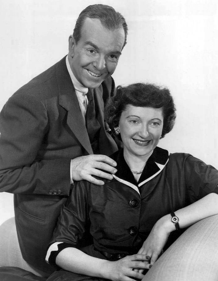 Alan Bunce and Peg Lynch