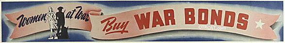 Women at War Buy War Bonds