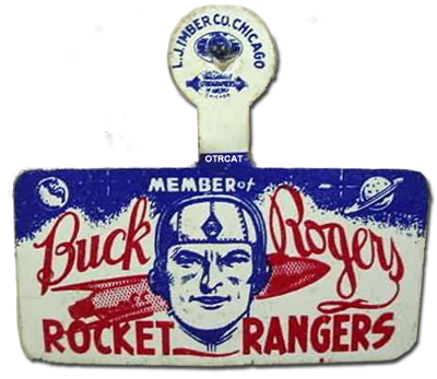 Buck Rogers Members Card