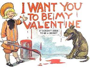 Buster Brown Valentine