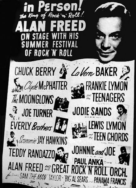 Alan Freed Camel Rock and Roll Dance Party