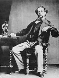 Charles Dickens at Table