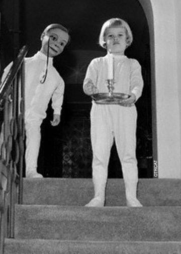 Charlie McCarthy & Child