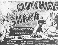 Clutching Hand Movie Poster