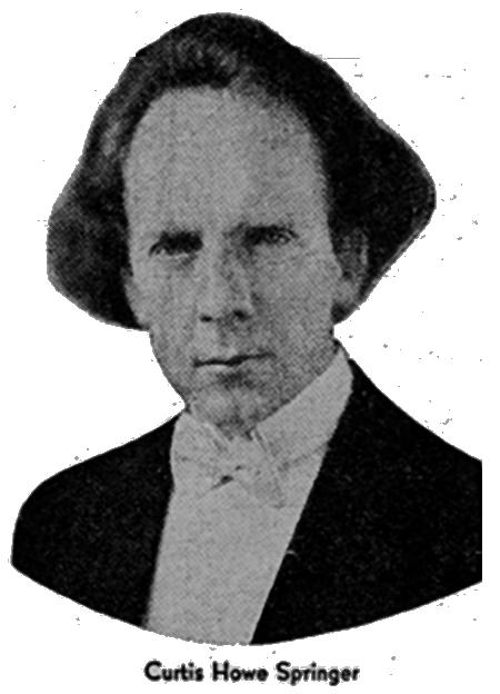 Dr Curtis Springer, radio host'