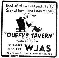 Duffy's Tavern Ad