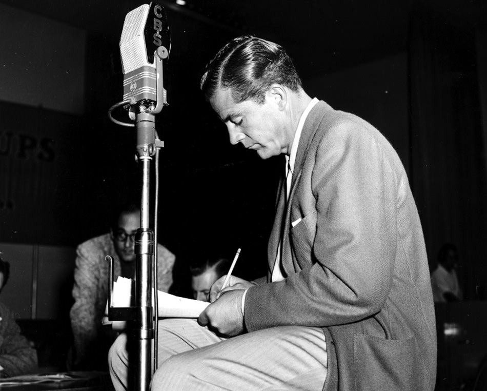 Dana Andrews on the Radio