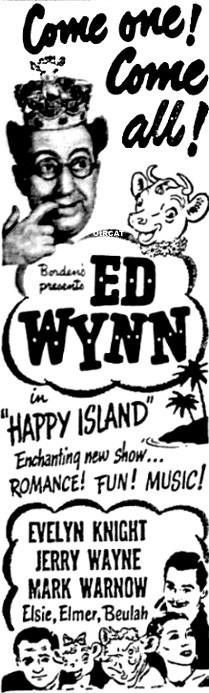 Ed Wynn Happy Island