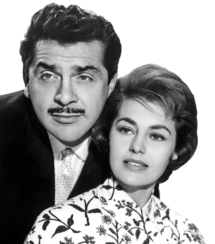 Ernie Kovacks and Cyd Charis