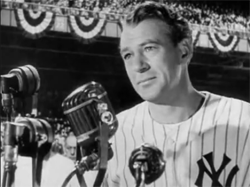 Gary Cooper Pride of the Yankees