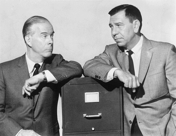 Harry Morgan & Jack Webb