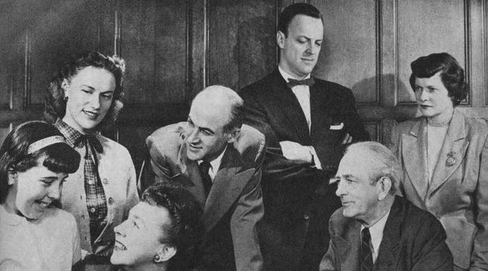 Hilltop House Cast 1954