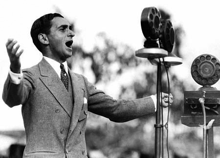 Irving Berlin Singing