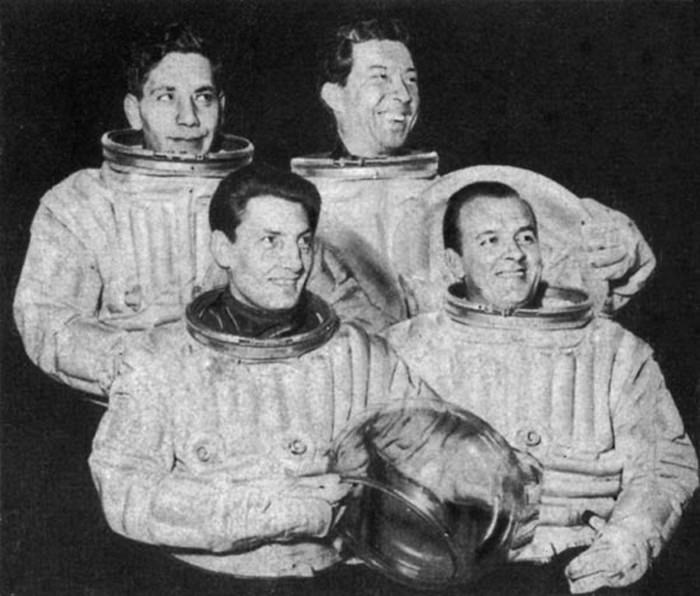 Journey Into Space Cast